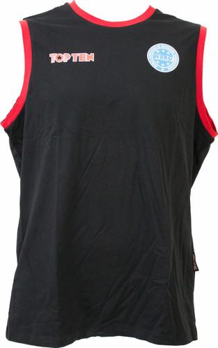 WAKO sleeveless Competition T-Shirt  (1618)