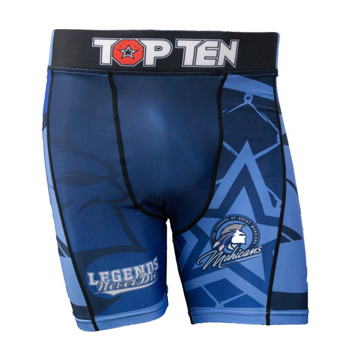"Compression short TOP TEN ""Mohicans"" Blue"