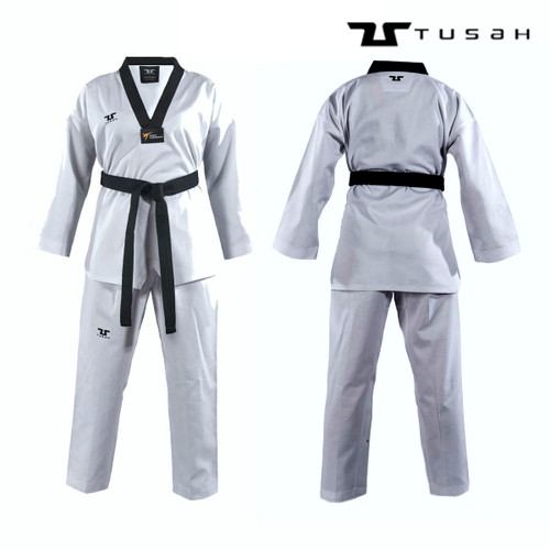 Tusah Black Collar WT Approved Uniform