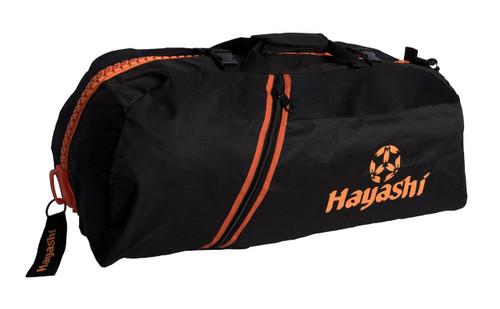 Hayashi Sports Backpack Combo BLACK/ORANGE Large (804-9305)