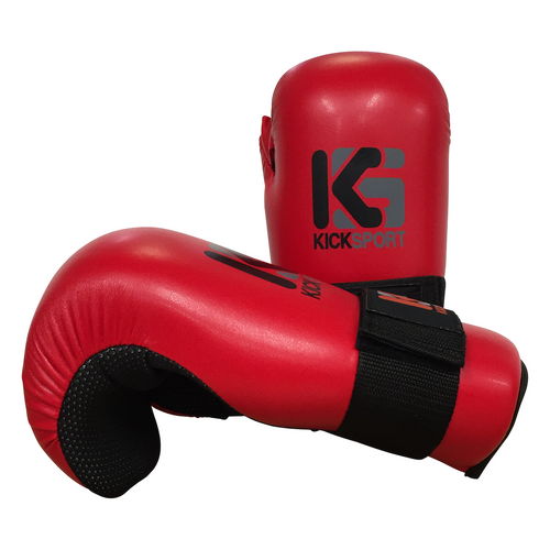 "Kicksport Point Fighter Gloves ""Fight"" - Red Child"