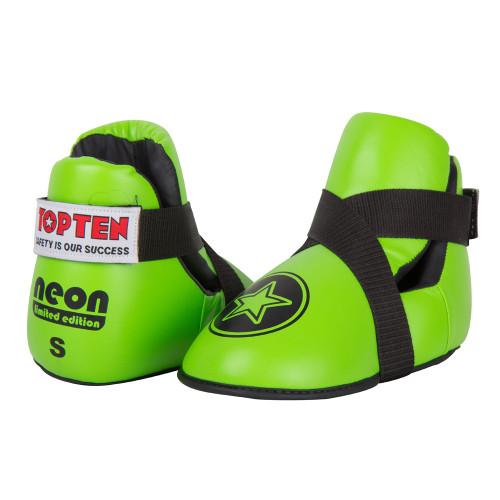 "TOP TEN Fight Kicks ""NEON GREEN"" Star Ltd Edition"