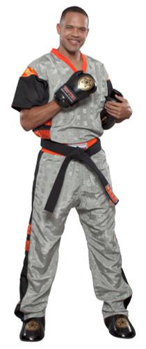 "PQ Mesh Uniform ""Neon Ltd"" Grey/Orange (1681-39)"