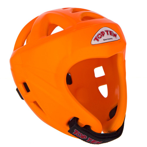 TOP TEN Avantgarde Head Guard 'Neon Orange'