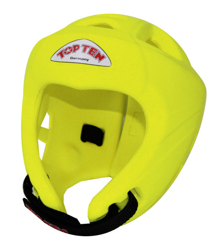 TOP TEN Avantgarde Head Guard 'Neon Yellow'