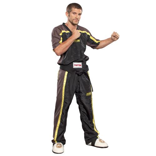 """TOP TEN MESH Uniform """"NEON"""" Black/Yellow Child (16005-2)"""