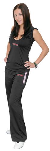 TOP TEN Fitness pants women BLACK