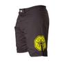 "TOP TEN MMA shorts ""Triangle"" - Black/Yellow (18741-92)"
