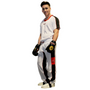 "TOP TEN Kickboxing Uniform ""Flexz"" White/Black Child"