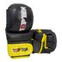 "TOP TEN Striking Gloves MMA ""Thumb Guard"" Black/Yellow (23341-92)"