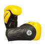 "TOP TEN Boxing/Sparring Gloves ""Hero"" Black/Yellow (2263-92)"