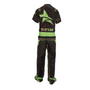 "TOP TEN Kickboxing Uniform ""FUTURE"" - Black/Green ADULT (16811-95)"