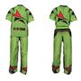 "TOP TEN Kickboxing Uniform ""FUTURE"" - Green/Black ADULT (16811-59)"