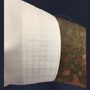 Sleeve material and stitching detail