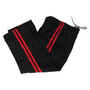Kicksport Contact Pants Black 2 Red Stripes - Adult