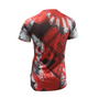 "TOP TEN Rash Guard ""Samurai"" short sleeve  Red/Black (14132-4)"
