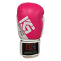 Boxing Gloves 10oz - Women's Fitness in Pink/White (KSLWG10-7110)