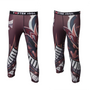 Samurai Spats Red