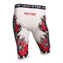 "Compression Short TOP TEN ""Samurai"" White (18805-4)"