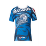 "TOP TEN Rash Guard ""Mohicans"" Short Sleeve Blue (14133-6)"
