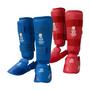 Hayashi Karate Shin/Instep 'Kumite' Blue & Red