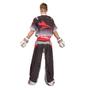 "TOP TEN Kickboxing Uniform ""FUTURE"" - Black/gray CHILD (16811-91)"