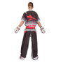 "TOP TEN Kickboxing Uniform ""FUTURE"" - Black/gray ADULT (16811-91)"