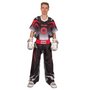 "TOP TEN Kickboxing Uniform ""FUTURE"" - Black/gray ADULT"