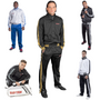 """TOP TEN Fitness Tracksuit """"STRIPES"""" 5 Colour Options Child/Youth"""