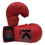 Kicksport Karate Mitts WKF Style - With Thumb - Red (KSKMWT-04)