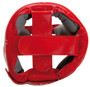 "TOP TEN ""A.I.B.A."" Boxing Head Guard - with label - Red (4069-4)"
