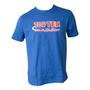 TOP TEN T-Shirt 'Get In The Ring' T-Shirt Blue