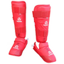 WKF Shin/instep guards 2016-2019 Red