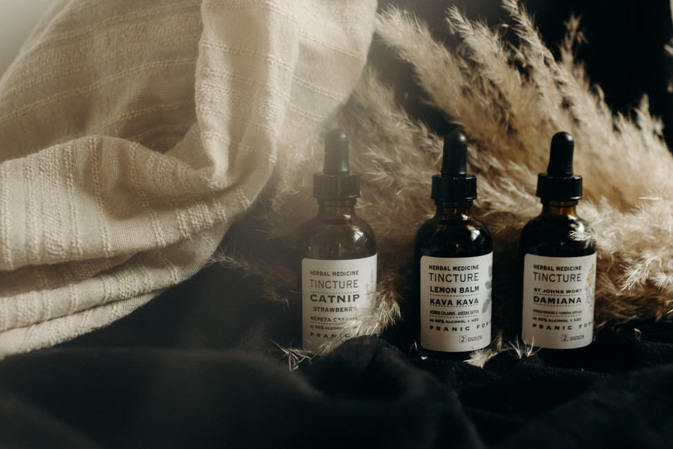 Tinctures for Anxiety and Depression
