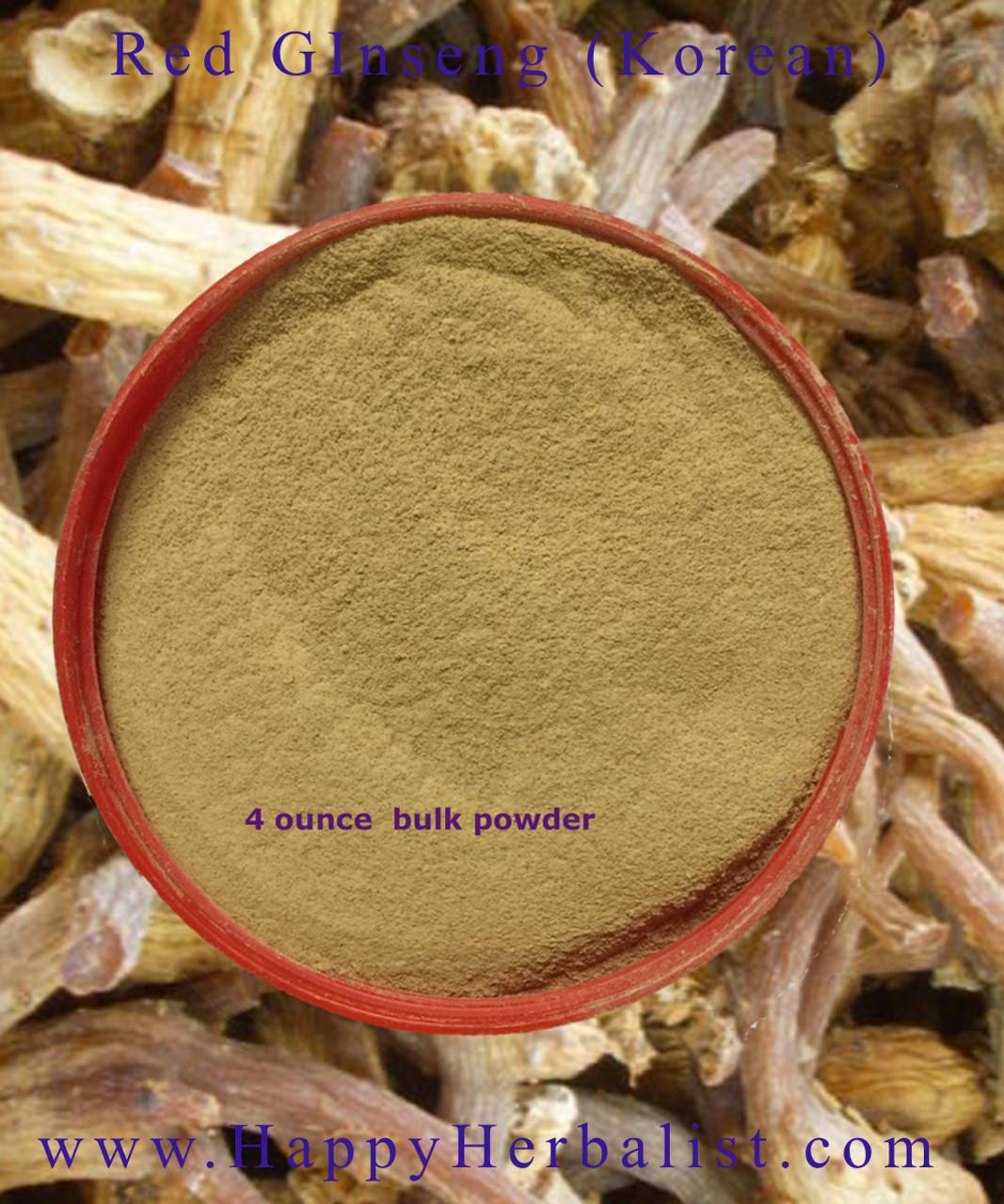 Ginseng Red Korean Powder