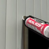 Weather-Tite Metal Roof Sealant comes in a variety of colors and goes on easily. If touch-ups are necessary, it may be painted (excluding translucent) with a water-based paint anytime after one hour of application