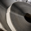 Flexible metal-to-metal adhesive butyl tape that stays in place, even in extreme heat.