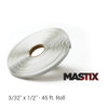 "3/32"" x 1/2"" - 45 ft. Roll - Flexible metal-to-metal adhesive butyl tape that stays in place, even in extreme heat."