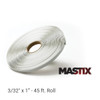 "3/32"" x 1"" - 45 ft. Roll - Flexible metal-to-metal adhesive butyl tape that stays in place, even in extreme heat."