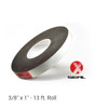 """3/8"""" x 1"""" X-Seal™ Expandable Foam Tape - 13 ft. Roll.  Expands to fill any-shaped gap in the construction of metal buildings, doors and windows, concrete, wood and more."""