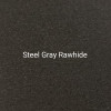 Steel Gray Rawhide - A dark gray textured finish by Bridger Steel for exterior or interior projects.
