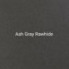 "24ga. Ash Gray Rawhide 4"" Color Sample"