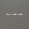 """24ga. Slate Gray Rawhide 4"""" Color Sample"""