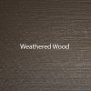 Weathered Wood - A textured finish designed to look like wood by Bridger Steel.
