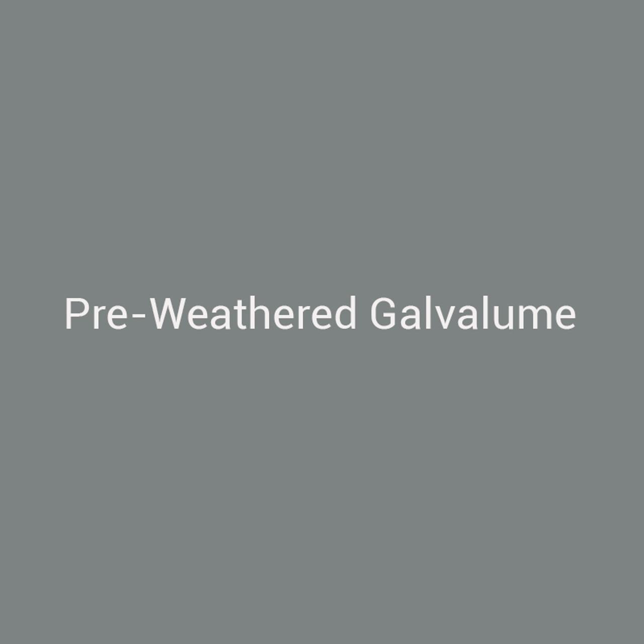 24ga  Preweathered Galvalume 12