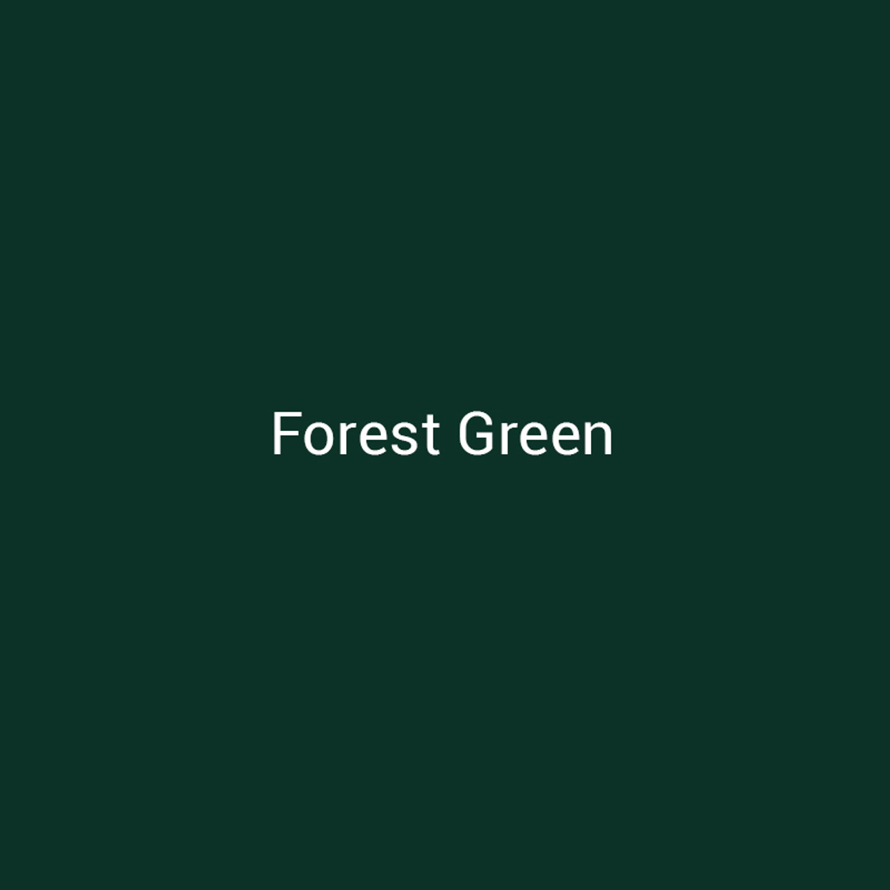 24 Ga Forest Green 4 Quot Metal Color Sample