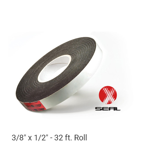 "3/8"" x 1/2"" X-Seal™ Expandable Foam Tape - 32 ft. Roll.  Expands to fill any-shaped gap in the construction of metal buildings, doors and windows, concrete, wood and more."