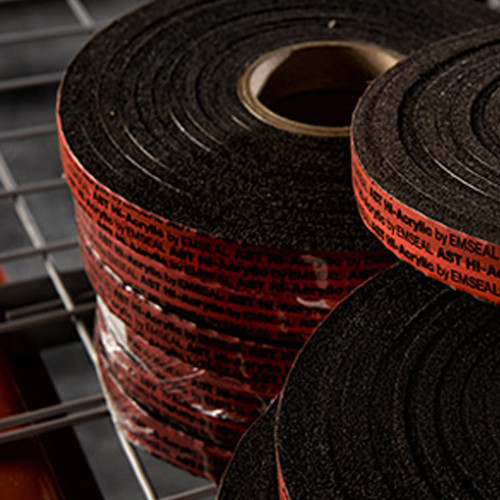 "3/8"" x 1"" X-Seal™ Expandable Foam Tape - 13 ft. Roll.  Expands to fill any-shaped gap in the construction of metal buildings, doors and windows, concrete, wood and more."