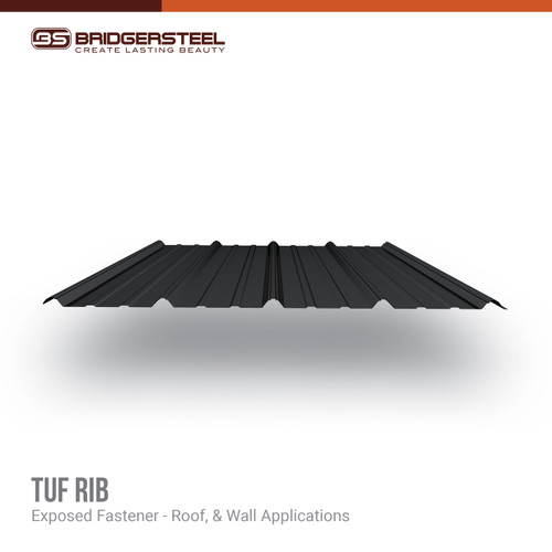 Available in a variety of colors, rustic prints, and specialty finishes, our Tuff Rib Panel gives you true versatility for your next project.