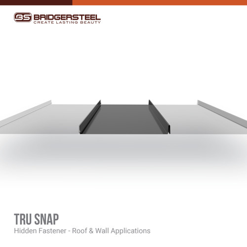 Available in a variety of colors, rustic prints, and specialty finishes, our Tru Snap Panels give you true versatility for your next project.